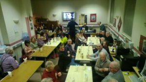 deaf group burns supper
